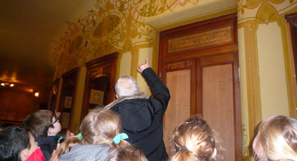 Visite de l'Opéra de Vichy