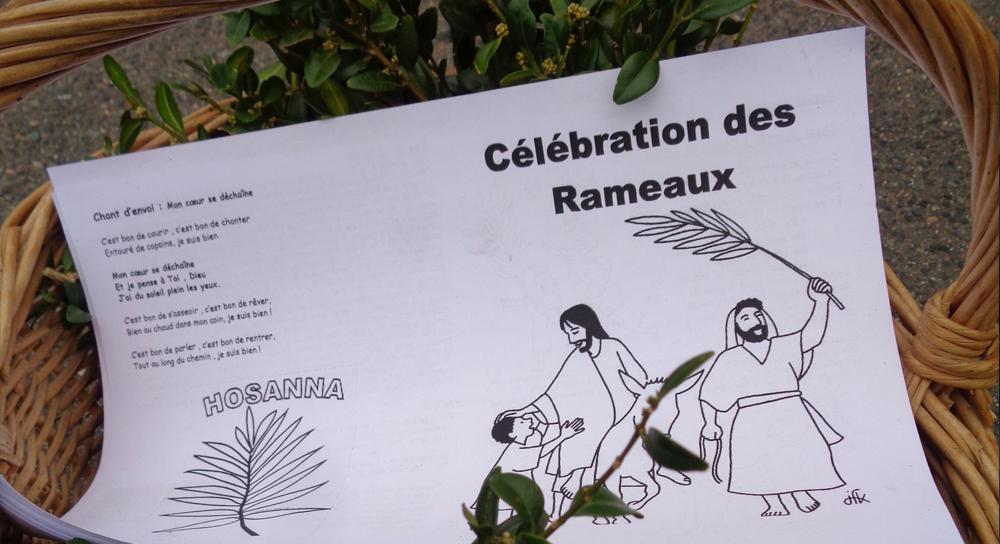 Célébrations des Rameaux