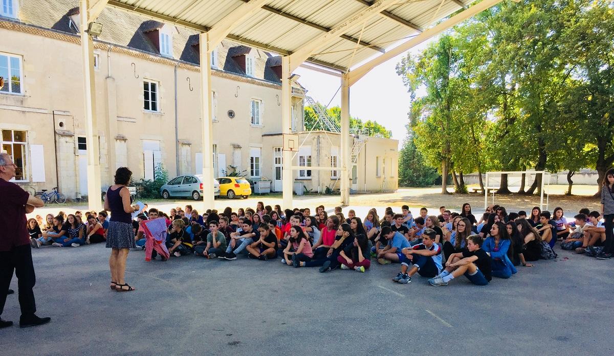 Journée d'intégration des élèves du collège/lycée Ste Procule