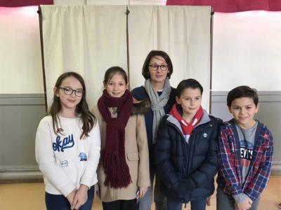 Des écoliers de Vichy élus au 1er Conseil Municipal des Jeunes