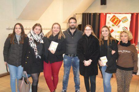 Les terminales d'Anna Rodier à la rencontre de l'auteur Grégoire Damon