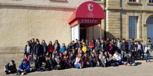 Visite au Centre National du Costume de Scène pour les collégiens de Gannat