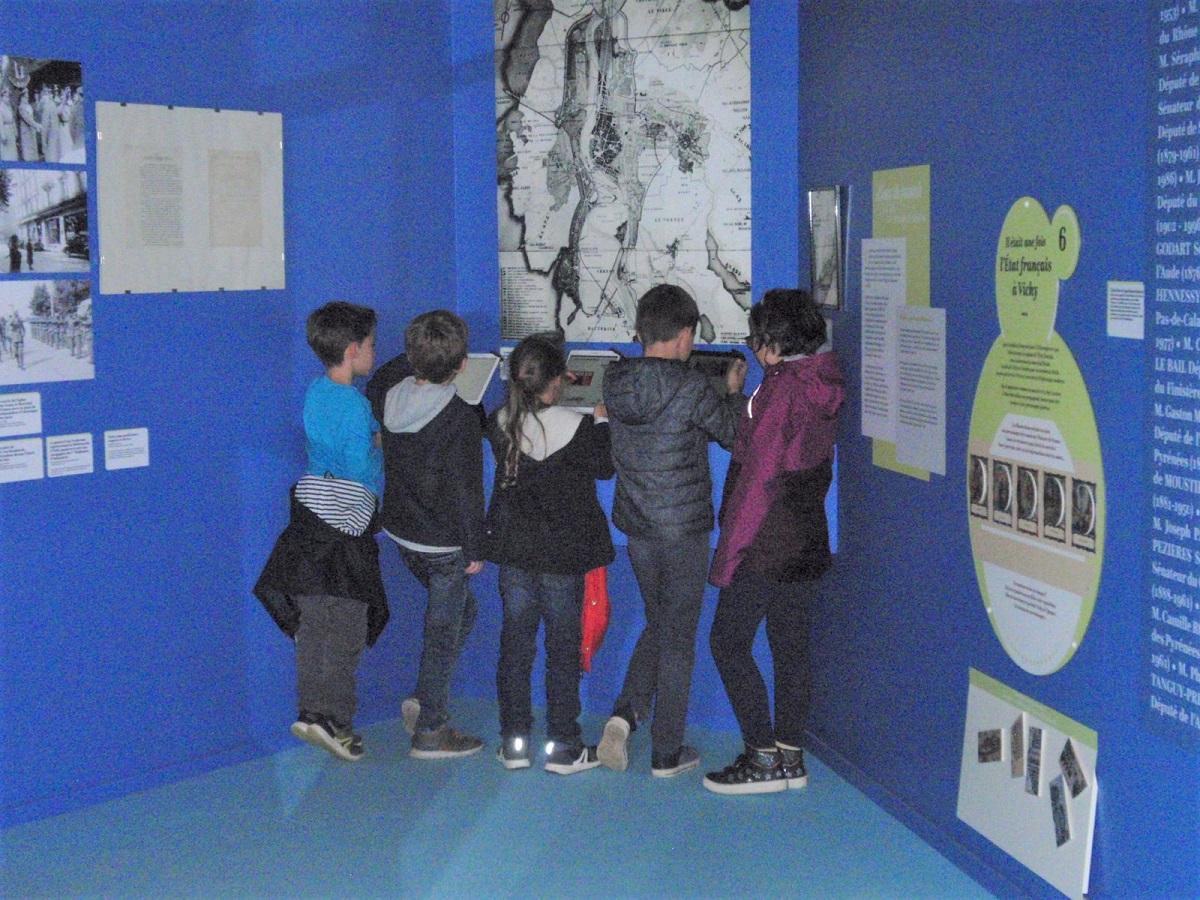 Exposition Vichy, Reine des Villes d'Eau pour les élèves de Vichy
