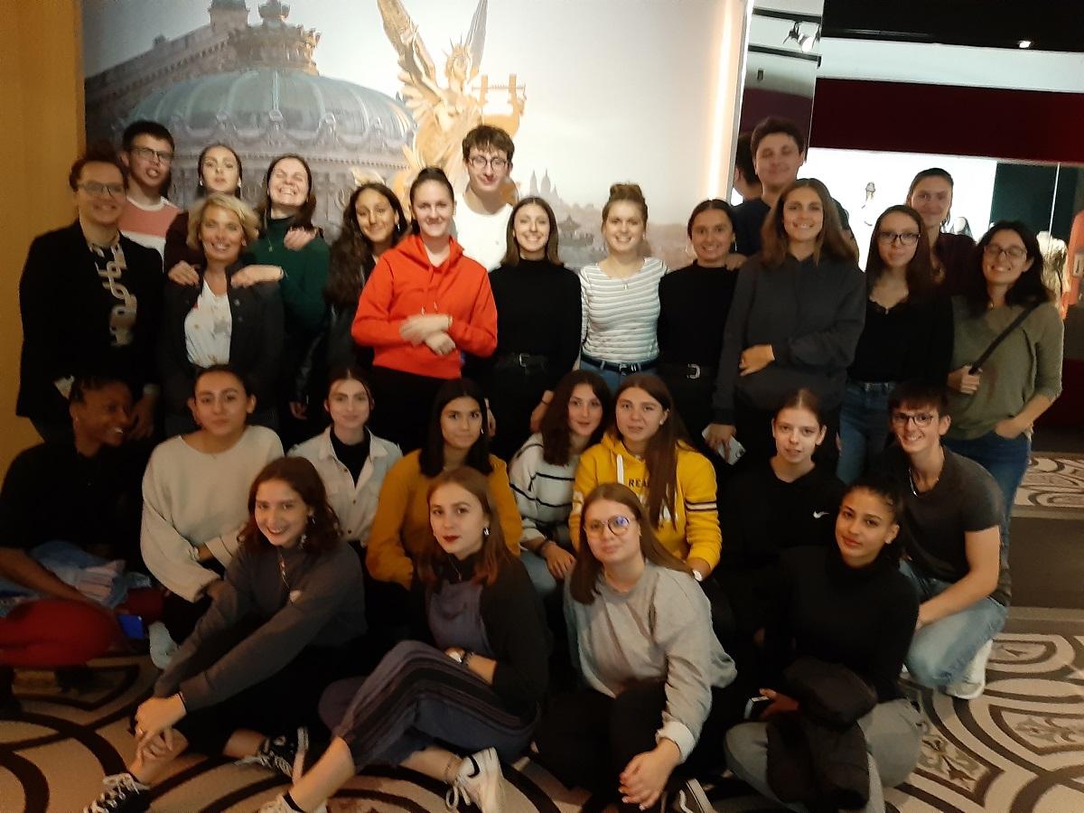 Projet Culturel « Dis-moi dix mots » pour des élèves de 1ère ST2S – Moulins