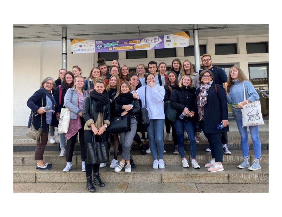Les terminales ST2S au forum « les jeunes et l'assurance maladie » – Anna Rodier, Moulins