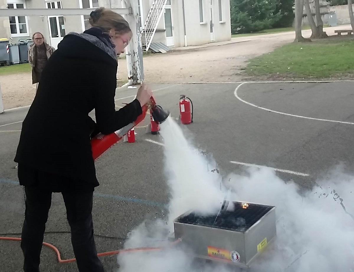 Formation Sécurité incendie et évacuation – ensemble scolaire Ste Procule, Gannat