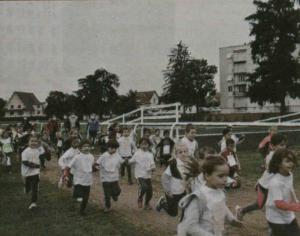 Cross inter écoles à Montluçon
