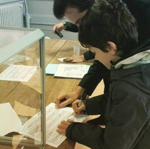 Élection auconseil municipal des jeunes de la ville de Vichy