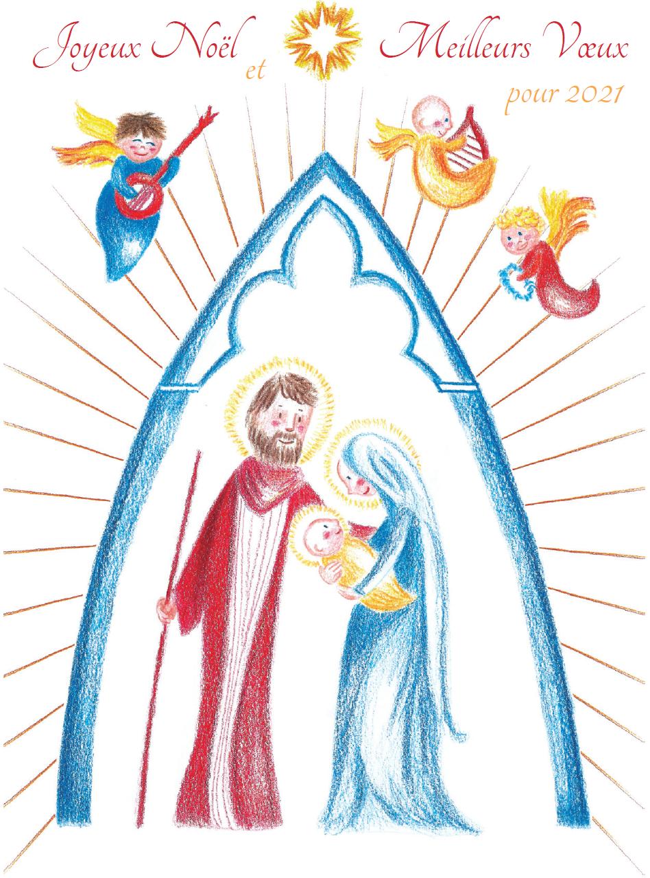 Le message de Noël du Directeur Diocésain aux acteurs de l'Enseignement Catholique des diocèses de Clermont et de Moulins