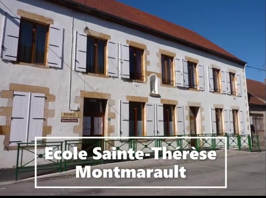 Découvrez l'école Sainte Thérèse à Montmarault