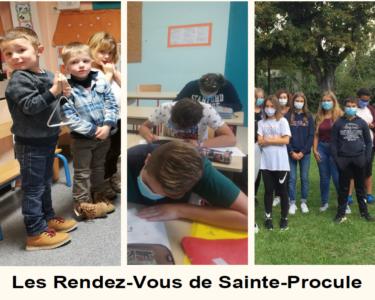 Les inscriptions sont ouverte pour l'ensemble scolaire Sainte Procule de Gannat