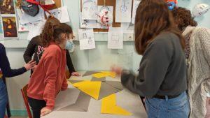 Tangram : de la géométrie au street art à Sainte Procule
