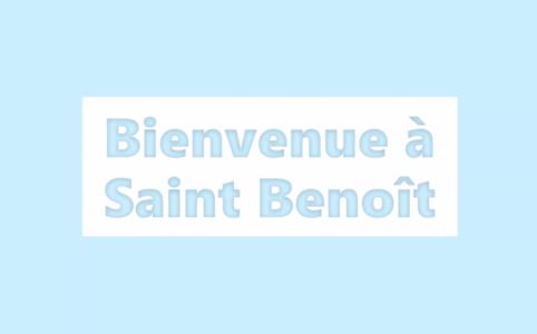 Visite de l'école maternelle Saint Benoît