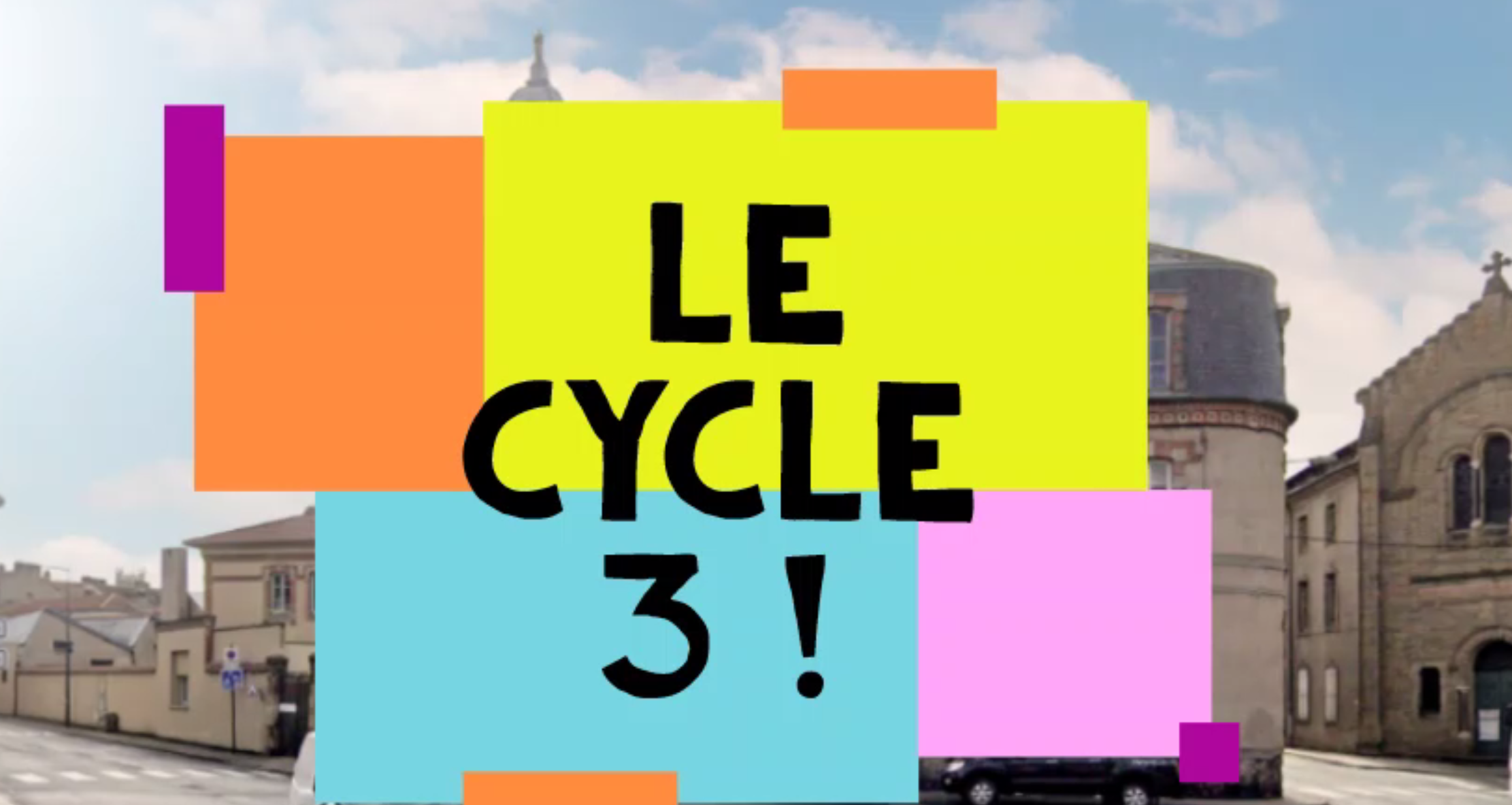 Visitez le cycle 3 de l'école Saint Benoît
