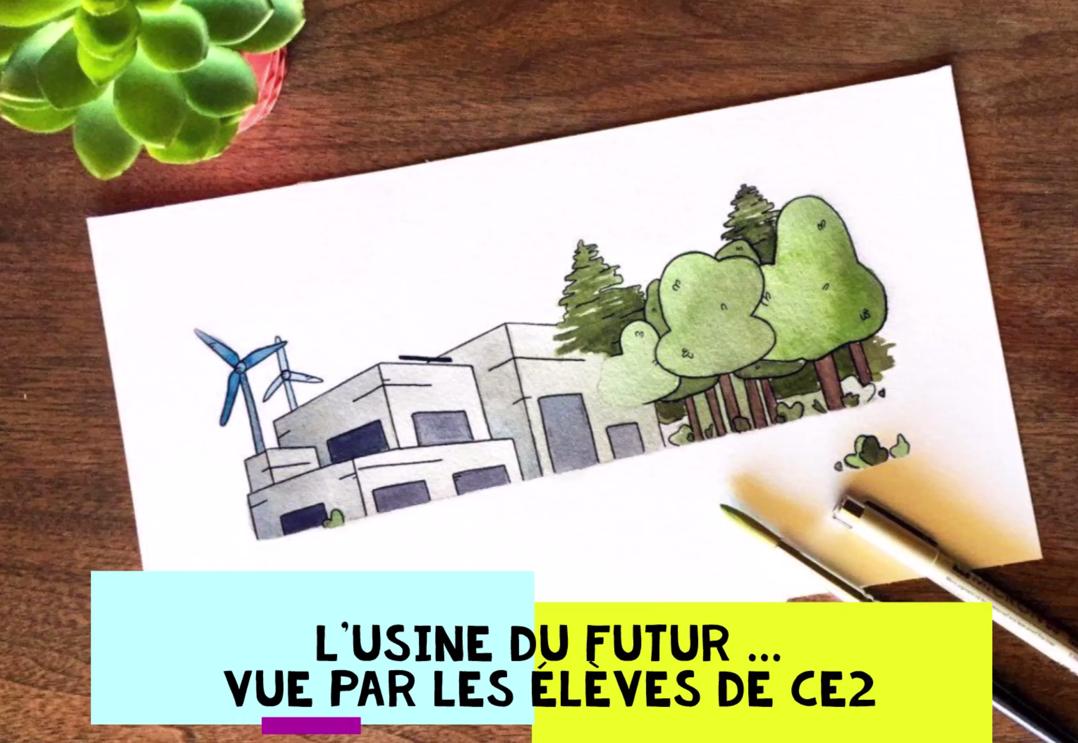 L'usine du futur par les CE2 de Sainte Procule